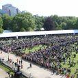 La garden party pour les 70 ans du prince Charles au palais de Buckingham à Londres le 22 mai 2018.