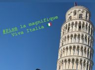 Laeticia Hallyday radieuse en Italie : photo renversante depuis Pise
