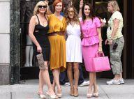 Sex and The City 2: Sarah Jessica Parker et ses copines déchaînées sont au complet... et elles enflamment New York !