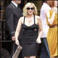 Kim Cattrall sur le tournage de Sex and The City 2 à New York