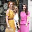 Sarah Jessica Parker, Cynthia Nixon, Kristin Davis sur le tournage de Sex and The City 2 à New York