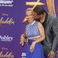 Jada Pinkett Smith et son mari Will Smith à la première du film Aladdin au El Capitan Theatre dans le quartier de Hollywood à Los Angeles, le 21 mai 2019