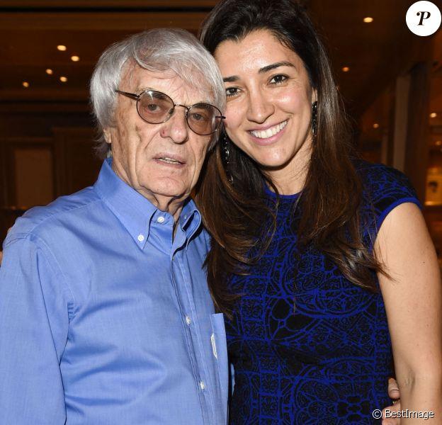 """Bernie Ecclestone et sa femme Fabiana Flosi - Soirée """"Royal Experience"""" à l'occasion du Grand Prix de Formule 1 à Monaco le 22 mai 2014."""