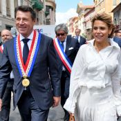 Laura Tenoudji et Christian Estrosi: Baiser passionné dans Nice après l'élection