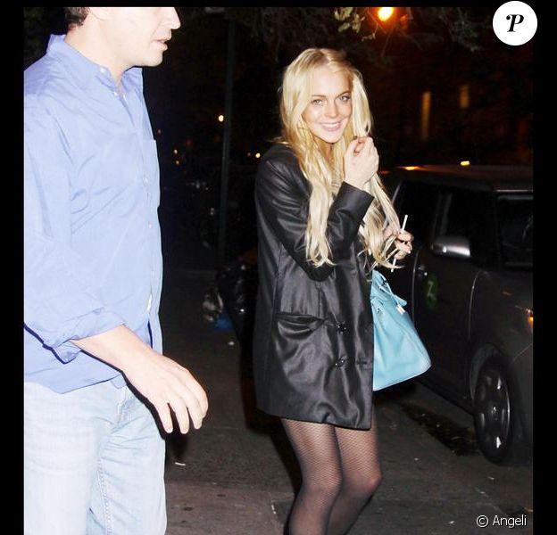 Lindsay Lohan et son look improbable vont conseiller la styliste d'Ungaro... Mouais ! 09/09/09