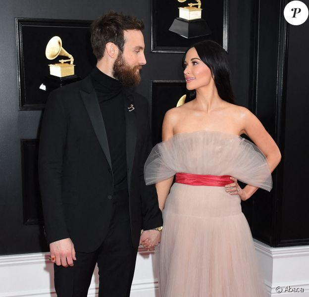 Kacey Musgraves et Ruston Kelly aux Grammy Awards 2019 à Los Angeles, le 10 février 2019.