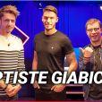 """Baptiste Giabiconi dans l'émission """"Le QG"""". Juillet 2020."""
