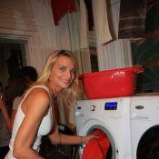 L'étincelante Sarah Marshall lave son linge en famille et... adore le cuir !