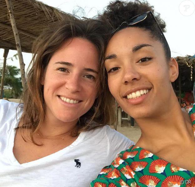 """Clo, candidate de """"Koh-Lanta 2019"""" et sa compagne Manon. Photo personnelle prise en 2019."""