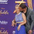 Jada Pinkett Smith et son mari Will Smith à la première du film Aladdin au El Capitan Theatre dans le quartier de Hollywood à Los Angeles, le 21 mai 2019