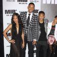 "Jada Pinkett Smith,Willow Smith, Will Smith, Jaden Smith - Première de ""Men in Black 3' à New York en 2012."