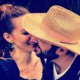 David Mora et Davina Vigné amoureux, sur Instagram, le 24 juillet 2019