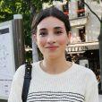 """Exclusif - Camelia Jordana à son arrivée à la première du film """"La nuit venue"""" aux Halles à Paris. Le 2 juillet 2020."""