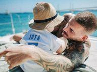 M. Pokora papa gaga : il filme Isaiah en couche avec Christina Milian