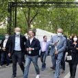 Exclusif - Yannis Chebbi, Anne Hidalgo, maire de Paris, Audrey Pulvar, Arnaud Ngatcha - Le concert de Paris 2020 pour la Fête Nationale à Paris, le 14 juillet 2020. © Veeren Ramsamy / Stephane Lemouton / Bestimage