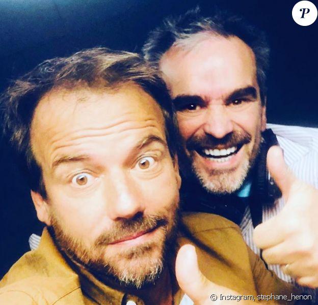 Stéphane Henon (Plus belle la vie) présente son frère jumeau Eric - Instagram, 23 juillet 2020