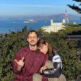 Lena Simonne et son compagnon, Roméo Elvis, sur Instagram, le 9 janvier 2020.