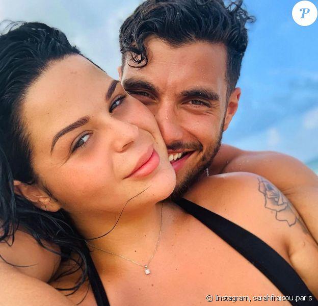 Sarah Fraisou et son compagnon Ahmed sur Instagram, le 21 janvier 2020