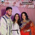 Sarah Fraisou a partagé les stories des invités de son mariage à Ahmed Harroun. Juillet 2020.