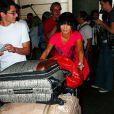 Bai Ling à l'aéroport de Los Angeles le 12 septembre 2009