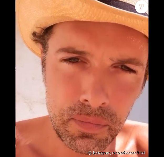Nicolas Bedos parodie les influenceurs, sur Instagram, le 9 août 2020.
