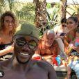 """Yves """"Koh-Lanta"""" en vacances avec Moussa et Wafa. Ils l'ont beaucoup soutenu après sa rutpure avec Carinne. Août 2020."""