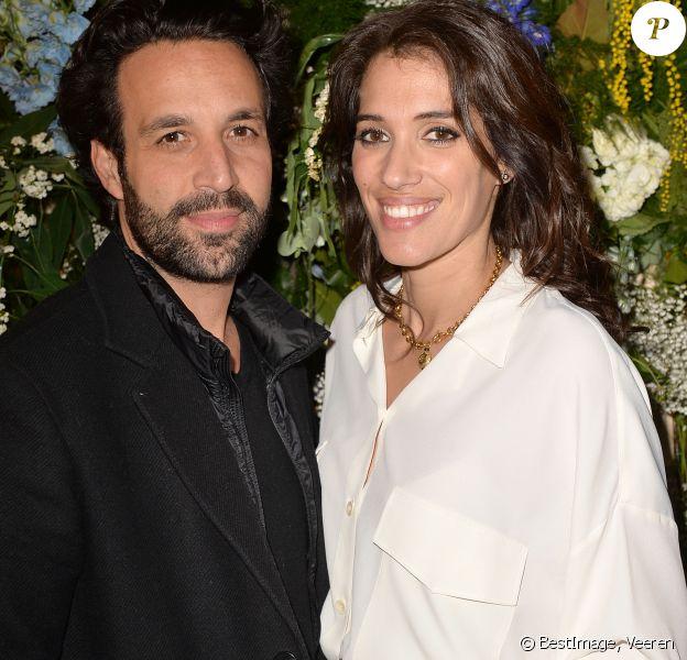 Exclusif - Laurie Cholewa et son mari Greg Levy - Présentation de la liqueur St-Germain à Paris le 23 janvier 2020. © Veeren/Bestimage