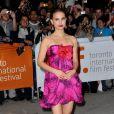 La magnifique Natalie Portman, à l'occasion de la présentation de  Love and other impossible pursuits , lors du 34e Festival International du Film de Toronto, le 16 septembre 2009 !
