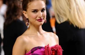 Natalie Portman au naturel... puis surmaquillée et en couleurs flashy... ange ou démon ?