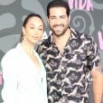 """Cara Santana et son mari Jesse Metcalfe à la première de la série TV Starz """"Vida"""" à Los Angeles, le 20 mai 2019."""