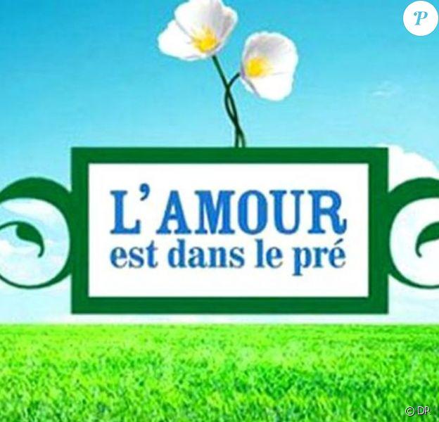 """Logo de l'émission """"L'amour est dans le pré""""."""