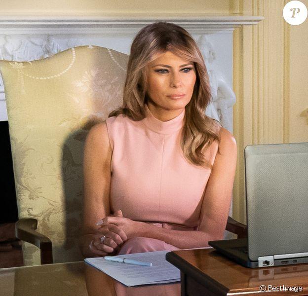 Melania Trump à la Maison Blanche.