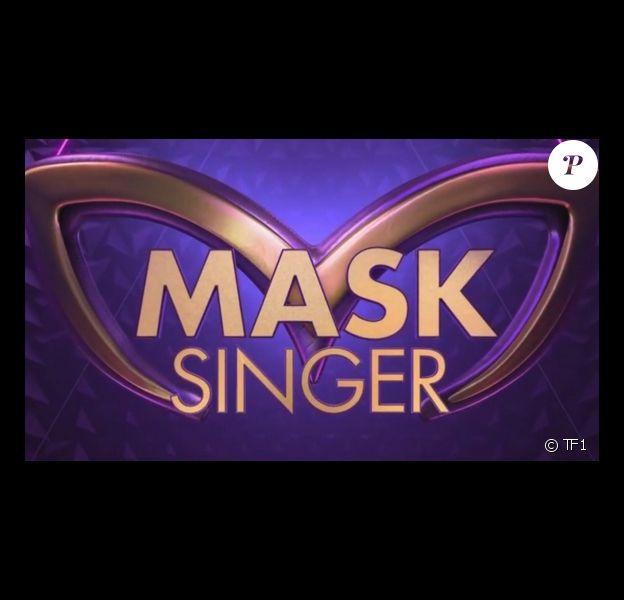 """Logo officiel de l'émission """"Mask Singer"""", diffusée sur TF1."""