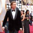 Brad Pitt arrive à la 92ème cérémonie des Oscars 2020 le 9 février 2020 à Los Angeles.