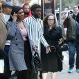 Chadwick Boseman et Taylor Simone Ledward à New York en novembre 2019.