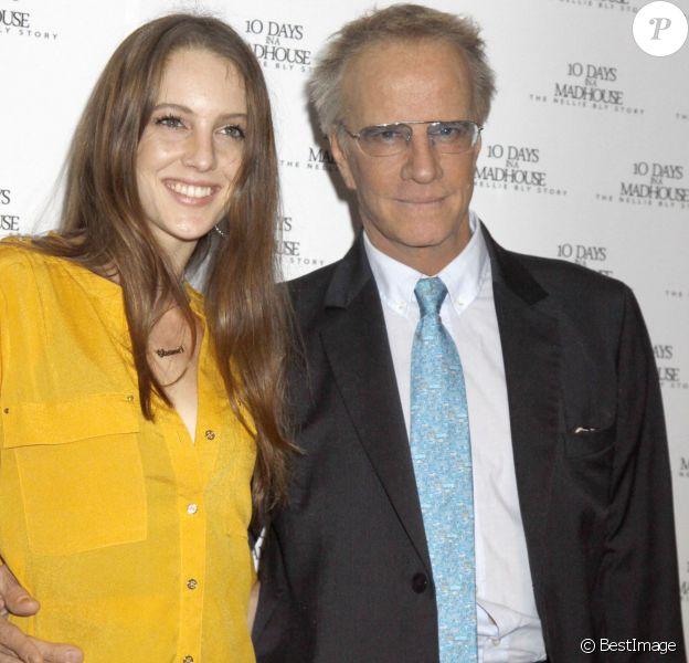 Christophe Lambert et sa fille Eleanor Lambert à la première de '10 Days In A Madhouse' à New York.