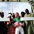Le célèbre Jockey Gérald Mossé en 1999.