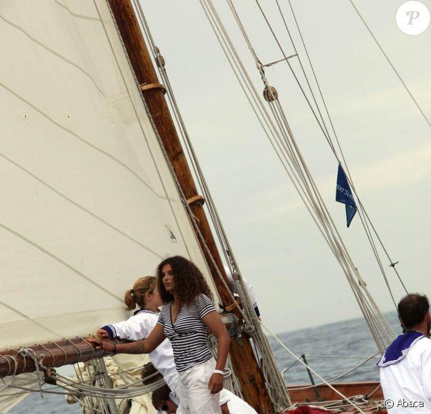 Jacqueline et Marie Tabarly ont célébré le centenaire de Tuiga avec le prince Albert, le 19 septembre 2009