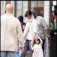 Katie Holmes et sa fille Suri à Boston (20 septembre 2009)