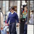 Tom Cruise et son fils Conor à Boston (20 septembre 2009)