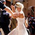 Mariage civil de Sophie Tapie et Jean-Mathieu Marinetti ‡ la mairie de Saint-Tropez en prÈsence de leurs parents et de la famille le 20 août 2020