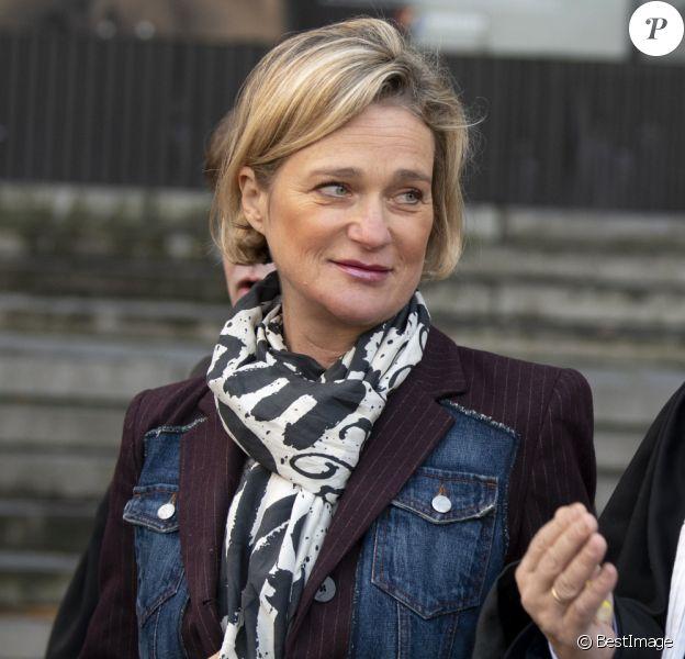 Delphine Boël, ici avec son avocat maître Marc Uyttendaele en 2019 lors du pourvoi en cassation du roi Albert, est bien la fille biologique du roi Albert II des Belges, selon le rapport de l'analyse ADN rendu public début 2020.