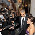 Eva Longoria et Tony Parker ont organisé le premier Par Coeur Gala, le 21 septembre 2009 à l'hôtel Meurice.
