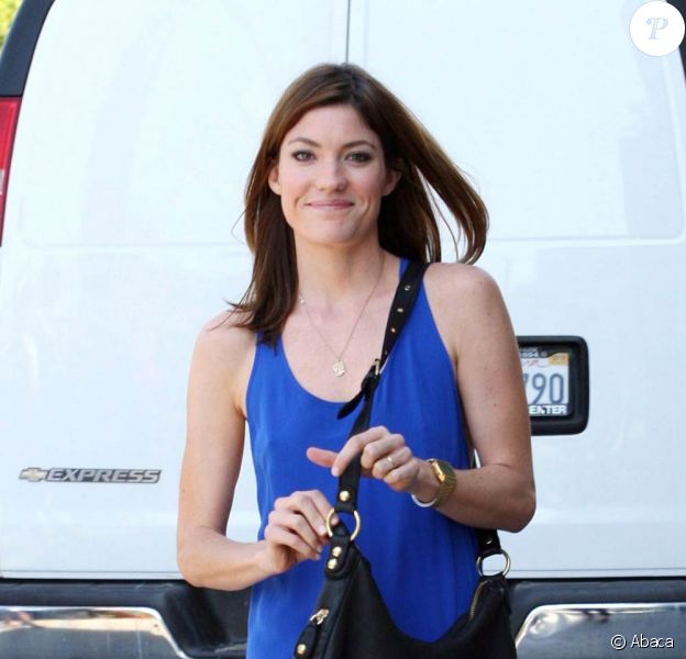 Jennifer Carpenter de Dexter dans Beverly Hills le 18 septembre 2009