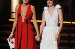 Leighton Meester et Blake Lively : Deux jolies jeunes filles, très en beauté... main dans la main aux Emmy Awards !