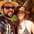 David Mora et Davina Vigné en vacances