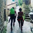 Alessandra Sublet a partagé des photos d'elle et de son amoureux, en vacances en Italie, sur Instagram, le 15 août 2020.