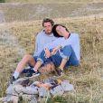 Alessandra Sublet et son amoureux Jordan Deguen lors d'une escapade romantique, sportive et studieuse en août 2020.