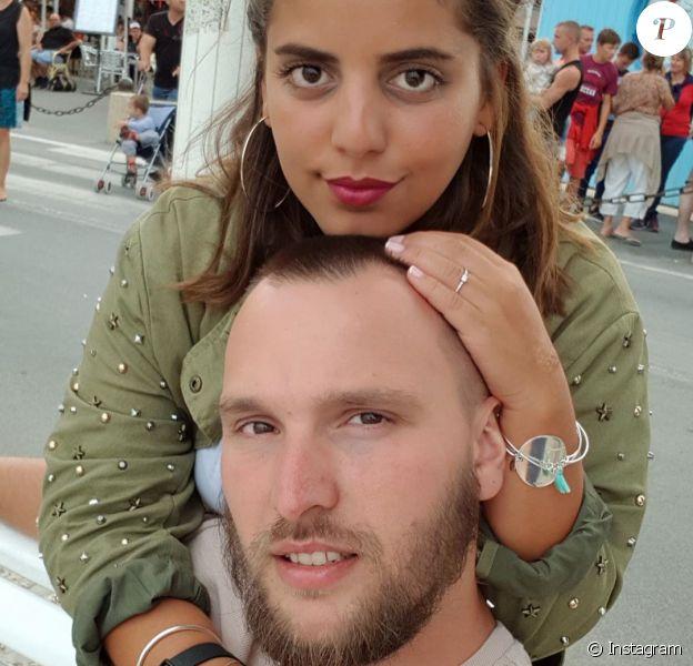 Ines Reg et son mari Kevin Debonne sur Instagram.