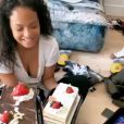 L'anniversaire surprise de Christina Milian le 26 septembre 2020.